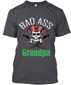 Grandpa T Shirt Limited Edition Asphalt T-Shirt Front