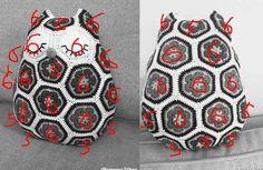 42 Ideas Crochet Pillow Pattern Animal Granny Squares For 2019 – Granny Square Crochet Pillow Pattern, Granny Square Crochet Pattern, Crochet Motif, Free Crochet, Crochet Patterns, Crochet Owls, Crochet Kids Hats, Crochet Flowers, Owl Patterns