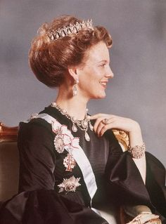 Queen Margrethe II of Denmark