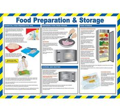 Food Preparation & Storage - Compiled by qualified health & safety practitioners.