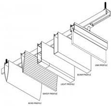 Image result for FALSE CEILING LOUVER CONNECTION