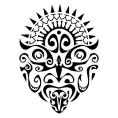 a-god-design-in-polynesian-style.jpg (600×600)