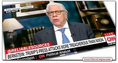 Watergate's Carl Bernstein Says Donald Trump Is 'More Treacherous' Than Nixon
