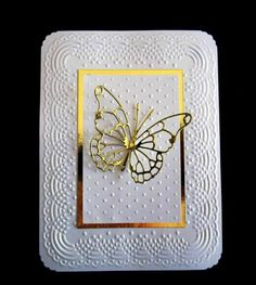 QFTD Framed Butterfly by catluvr2 - Cards and Paper Crafts at Splitcoaststampers