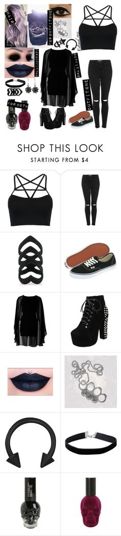 """""""Photo shoot set"""" by katlanacross ❤ liked on Polyvore featuring WithChic, Topshop, Vans, AX Paris, The Rogue + The Wolf, Miss Selfridge and NOVICA"""
