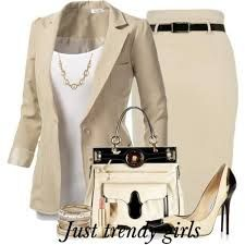 Classic clean look. Nice for work. Love colors on shoes to bring it together. Would want shorter heels or flats.