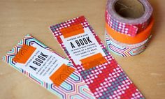 Bookmarks with Washi Tape - How About Orange