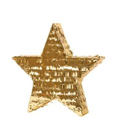 Gold Foil Star Pinata - Party City