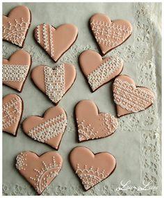 Lace Cookies - LeivinLiina