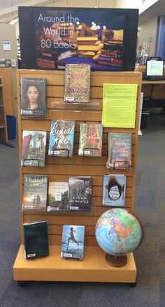 Interested in reading a book set in Thailand, Ghana or Burkina Faso? Try these and others this month at Lackman Library! School Library Decor, School Library Lessons, School Library Displays, Middle School Libraries, Library Themes, Teen Library, Library Art, Elementary Library, Reading Display