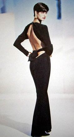 Linda Evangelista in Yves Saint Laurent
