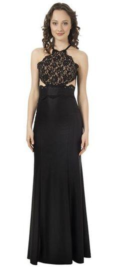 Vestido Sereia Com Renda Emanuela