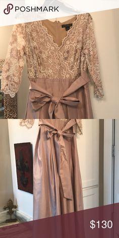 Mother of the groom Dress Elegant/Long formal wear/quarter length sleeves-worn once Jessica Howard Dresses Wedding