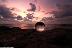 Effect: In this image a A Sri Lanka skyline over old town of Galle is perfectly captured inside the glass globe.