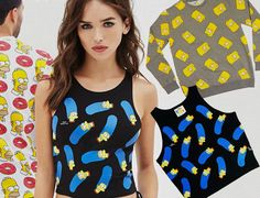 Forever 21, The Simpsons, Floral Tops, Tank Tops, Thunder, Outfits, Book, Women, Fashion