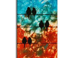 abstract birds..