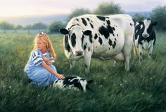 New calf...Robert Duncan, artist