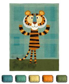 The Artists Palette :: Steve Mack << Illustration Friday