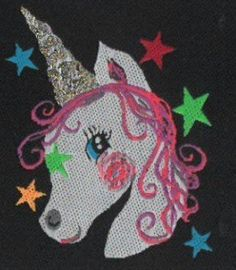 ♥ EINHORN ♥ WE KEEP YOU IN TOUCH FOR USE 5x5cm