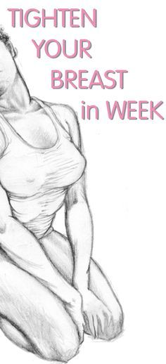 how to get smaller breasts in 1 week