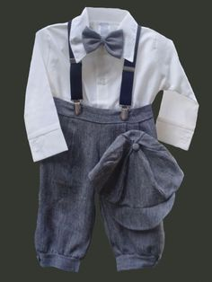 DapperLads - Knickerbocker Set - Granite - Infant / Baby Boy - infant size boys clothing, clothes for infants and baby boys