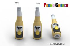 corona beer bottle  custom molded power banks are perfect for #marketing #b2b…
