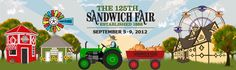 Sept 05 to Sept 09 - 125th Sandwich Fair  http://www.funinthechicagoburbs.com/festivals.htm?trumbaEmbed=view%3Dobject%26objectid%3D218640