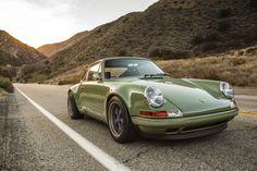 Porsche kaki groen begin '90