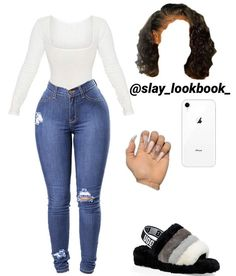 Baddie Outfits Casual, Boujee Outfits, Teen Fashion Outfits, Dope Outfits, Girly Outfits, Simple Outfits, Trendy Outfits, Swag Outfits For Girls, Cute Swag Outfits