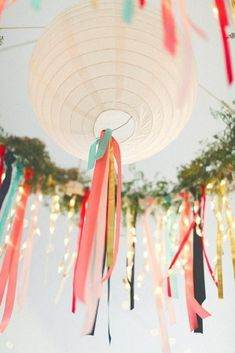 15 Nylon and Paper Lanterns Party Ideas We Love