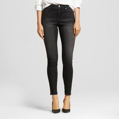 Women's High Rise Jegging Black
