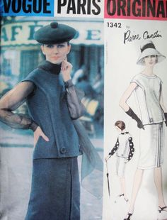 60s Chic CARDIN Slim 2 Pc Dress Blouse, Scarf Pattern Vogue Paris Original 1342 Day or Cocktail Dress Bust 32 Vintage Sewing Pattern UNCUT di SoVintageOnEtsy su Etsy https://www.etsy.com/it/listing/226096592/60s-chic-cardin-slim-2-pc-dress-blouse