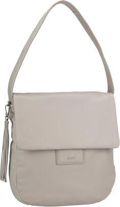 BREE Handtasche »Jersey 3« für 249,00€. Beuteltasche / Hobo Bag, Leder, Auf der Rückseite ein Reißverschlussfach, Schlüsselhalter, Rückseitiges Fach bei OTTO