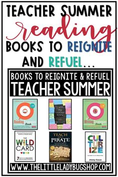 "Are you looking for Summer Reading Professional Development Books? Check out these Teacher Summer Planning Tips to Reignite and Refuel for a New School Year. I Never Start Thinking of School or Start Planning During the Summer,"" Said No Teacher Ever. Bilingual Education, Teacher Education, New Teachers, Elementary Teacher, Upper Elementary, Teacher Resources, Elementary Education, Teacher Books, Books Teachers Should Read"