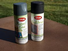 You can also use this Krylon magnetic spray paint to make a magnetic board in your house. #diy #magnetic