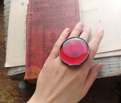Ruby Red Ring  by MARIAELA........