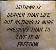If you have the freedom to live your life your way......you have everything!