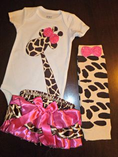 1st Birthday Outfit -- too stinkin cute!!!