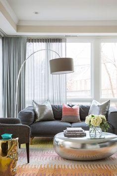 Living Room inspiration. Eclectic. Midcentury modern Design // Austin Bean Design Studio Photography // Bob Greenspan