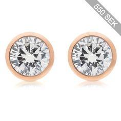 Michael Kors Earrings Brilliance Metal and Crystal Stud Earrings