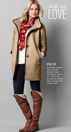 the boots, the coat = heaven!