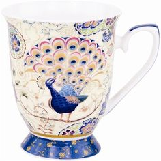 Mug Fe Peacock Fantasy Blue-AS-16241 NZ$15.00 on buyinvite.co.nz