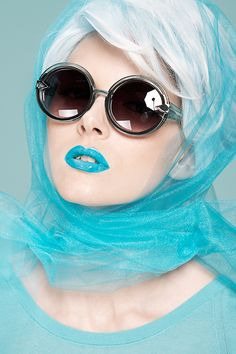 Shades of Blue / 12mag.net by Diliana Florentin, via Behance   by Diliana Florentin    18      6