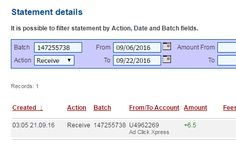 Ad Click Xpress - ACX paying all day and here is my payment Nr.240!!! NO SCAM HERE!!! THANKS ACX! Here is my Withdrawal Proof from AdClickXpress.This is not a scam and I love making money online with Ad Click Xpress. AdClickXpress is the top choice for passive income seekers. Making my daily earnings is fun, and makes it a very profitable! I am getting paid daily at ACX and here is proof of my latest withdrawal.