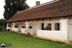 Ilyen a magyar feng shui Fachada Colonial, Heart Of Europe, Thatched Roof, Tropical Houses, Traditional House, Feng Shui, Countryside, Pergola, New Homes