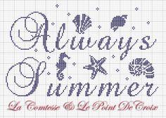 La Comtesse & Le Point De Croix: Sempre estate...