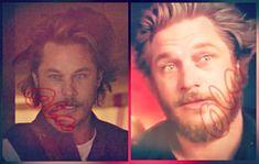 Bordados Viking, Vikings Travis Fimmel, Double Trouble, This Man, Messy Hairstyles, Einstein, Ryan Hurst, Daddy, Avan Jogia
