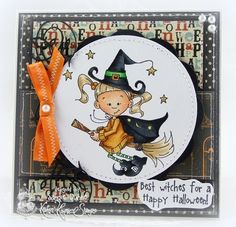 Best Witches by cailin - Cards and Paper Crafts at Splitcoaststampers