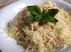 Nejlepší recepty na špagety | NejRecept.cz Spaghetti, Bastilla, Pasta, Comfort Food, Gnocchi, Ketchup, Food And Drink, Ethnic Recipes, Jewelery