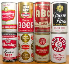 "I also used to collect cool beer cans.........that was in the mid 70""s.....I would love to have those cans now...."
